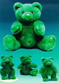 Teddy-Up Irish Bear by Blue Bell Bear
