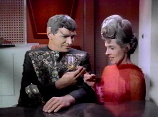 Amanda with Sarek