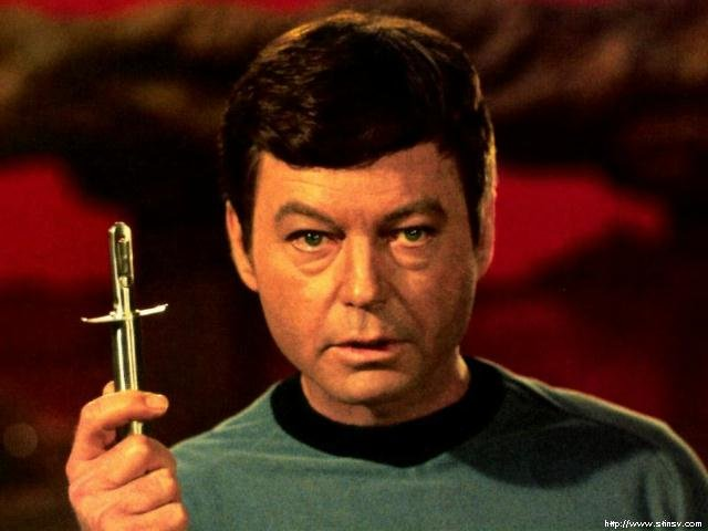 Sheryl's Star Trek Site - Memorial to DeForest Kelley - Dr ...